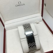 Stainless steel Omega seamaster