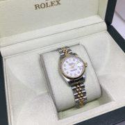 Rolex Bi-metal date just