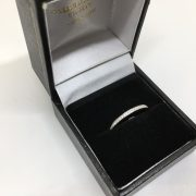 9 carat white gold diamond 1/2 eternity ring