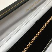 9 carat rose gold round belchar bracelet