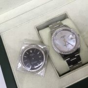 Stainless Steel Rolex Date