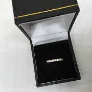 Preowned Tiffany & Co platinum and diamond ring