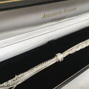 Silver multi link bracelet