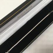 Silver CZ bracelet