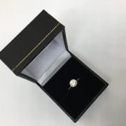 Preowned 18 carat yellow gold diamond single stone ring
