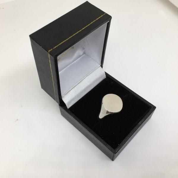 Platinum signet ring
