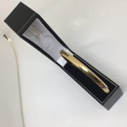 Preowned 9 carat yellow gold slave bangle