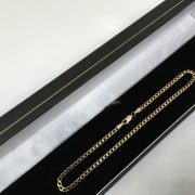 Preowned 9 carat yellow gold anklet