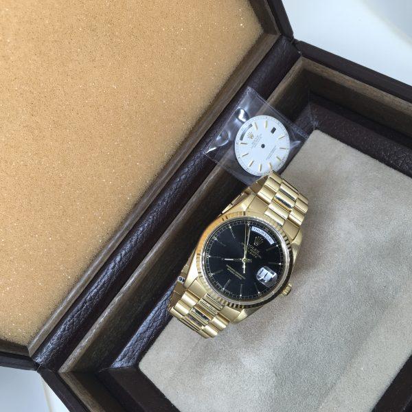 18 carat Rolex Day Date