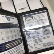Preowned Platinum diamond single stone 'Leo Diamond'ring