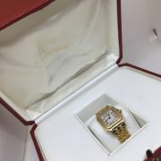 Preowned ladies 18 carat yellow gold Cartier Wrist watch