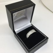 Preowned platinum and diamond band/ eternity ring