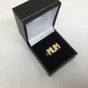 9 carat yellow gold mum ring