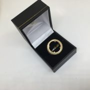 9 carat yellow gold 1/2 sovereign mount