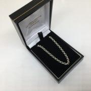 Sterling silver belchar chain