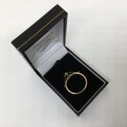 9 carat yellow gold full sovereign mount pendant