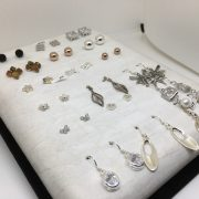 Sterling Silver earring selection