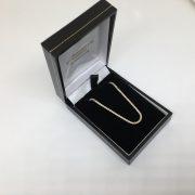 Sterling silver fancy link chain