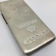 Preowned Metalor 1 kilogram bar of 999.0 silver