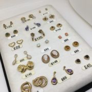 Preowned gold earrings