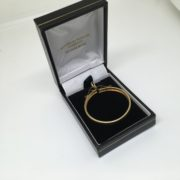 Preowned 9 carat yellow gold full krugerrand Mount