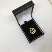Preowned 9 carat yellow gold 25 charm/ pendant