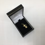 Preowned 9 carat yellow gold tea pot charm/ pendant
