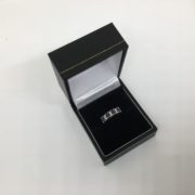 9 carat yellow gold sapphire and diamond ring