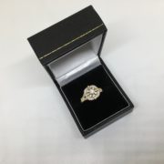 18 carat yellow gold diamond ring