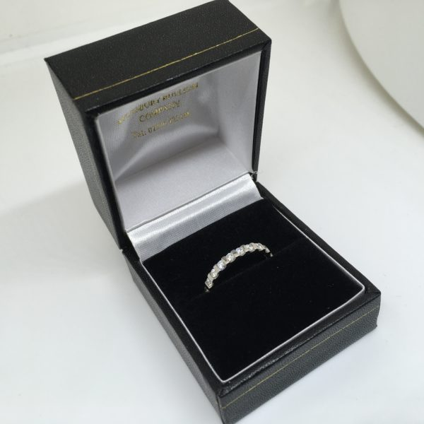 Preowned Platinum diamond full eternity ring/ band