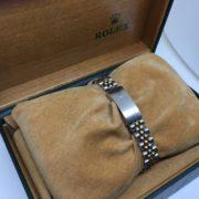 Bi-metal Rolex datejust