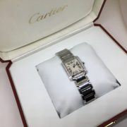 Stainless steel diamond Cartier watch