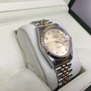 Bi metal Rolex datejust
