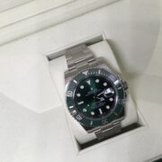 Stainless Steel Rolex submariner 'The Hulk'
