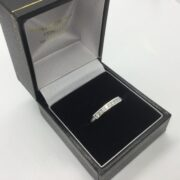 Platinum diamond band/ eternity ring
