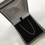 Sterling silver plug chain