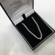 Sterling silver diamond cut belchar
