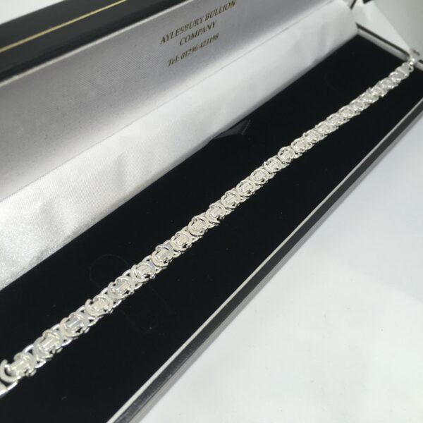 Sterling Silver Byzantina Bracelet