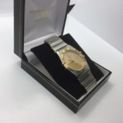 Preowned stainless steel Omega Constellation