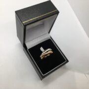 9 carat 3 colour Russian wedding band