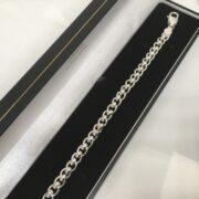 Sterling silver roller ball bracelet