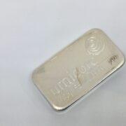 100 gram fine silver bar