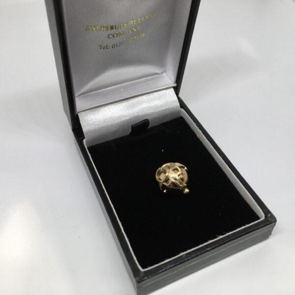 Preowned 9 carat yellow gold Masonic ball